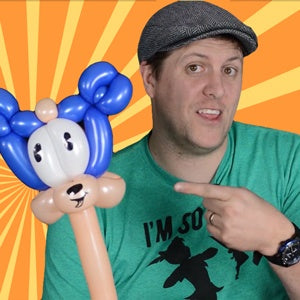 2-Minute Sonic The Hedge Hog Balloon by Balloon Josh