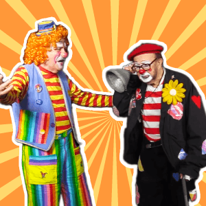 "Video: ""The Old Man"" Clown Skit by Call Us Clowns"