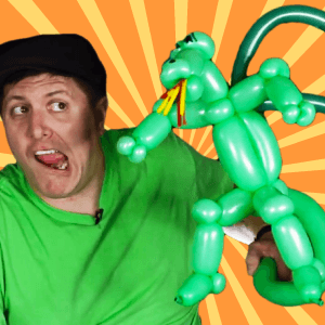 Video: Fire-Breathing Dragon Balloon Art by Balloon Josh