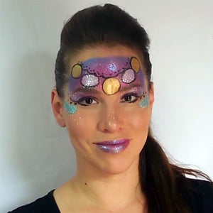 Magic Gypsy Face Paint Video by Leonora Gabucio