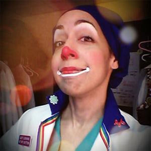 The Hospital Face from Nurse Lulu's Clowning on a Budget