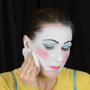 How Do I Remove Clown Makeup?
