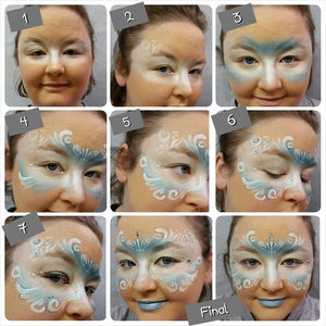 How to create a Ice Queen Masqurade Mask