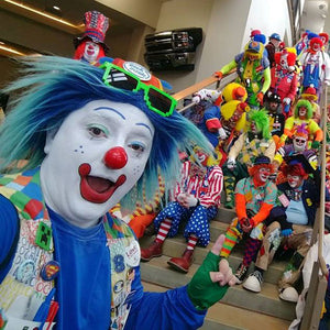 Clown Selfie Winner - Shawn Lahey and the Anah Shrine Klowns
