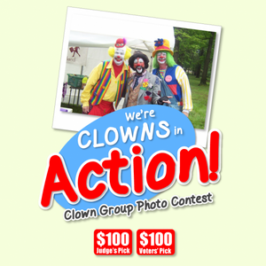 Clown Group Photo Contest! Join now!