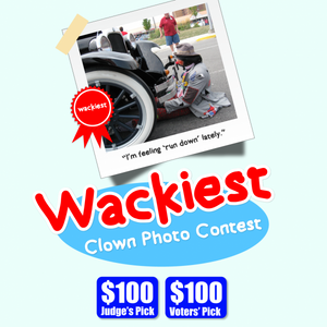 Wackiest Clown Photo Contest! Join now!