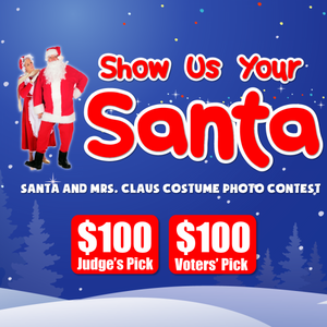 Show Us Your Santa Photo Contest! $100 for Winners!