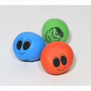 DIY: Mini Stress Ball Squishy Face