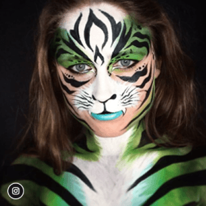 Face Paint Design Contest Winner - Laurel Tisserand