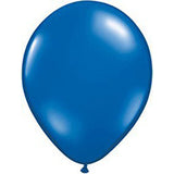 Blue Twisting Balloons