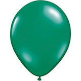 Green Twisting Balloons