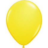Yellow Twisting Balloons