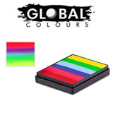 Global Colours 50 gm Rainbow Cakes
