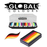 Global Colours Split Cakes & Palettes