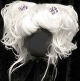 White Clown Wigs