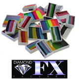 Diamond FX Face Paint Split Cakes