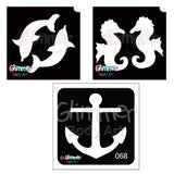 Pirates & Sea Animal Stencils