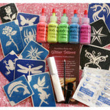 Halloween Glitter Tattoo Kits