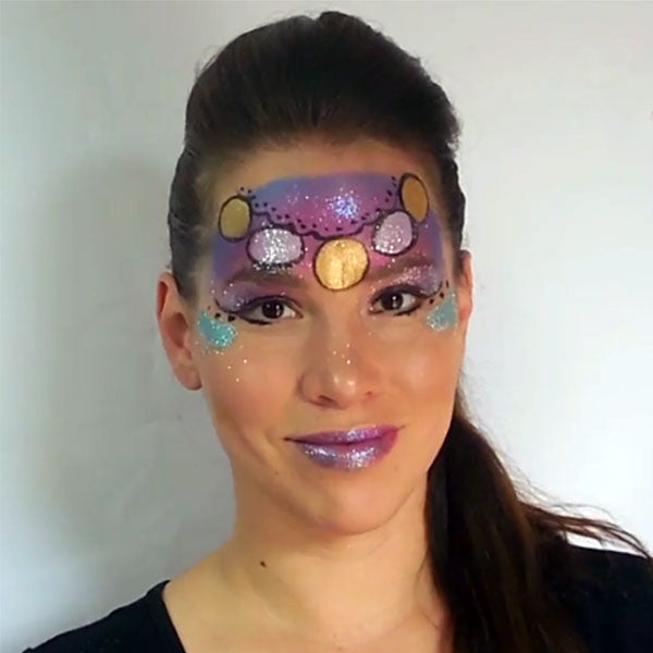 Gypsy Face Paint by Leonora