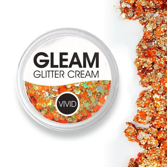 VIVID Gleam Glitter Cream - Harvest (10 gm)