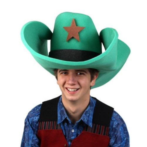 Super Size 50 Gallon Cowboy Hats - Green (28