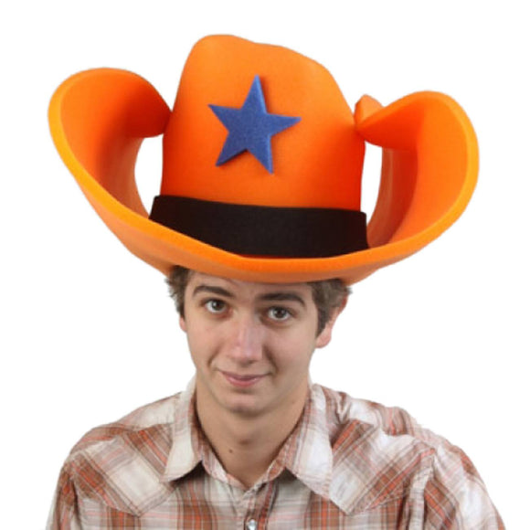 Super Size 50 Gallon Cowboy Hats - Orange (28