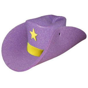 "Super Size 50 Gallon Cowboy Hats - Purple (28"")"