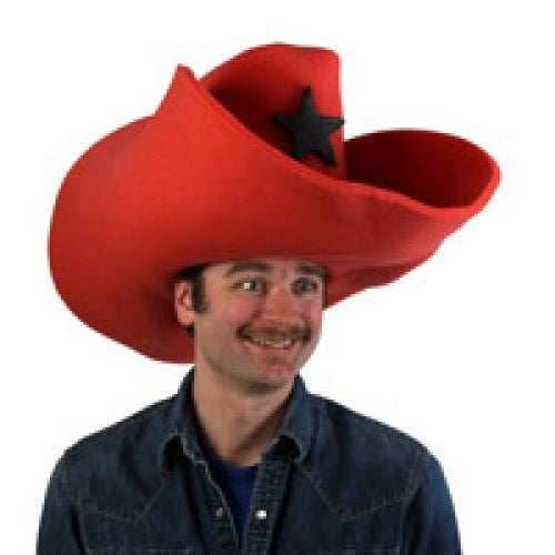 Super Size 50 Gallon Cowboy Hats - Red (28