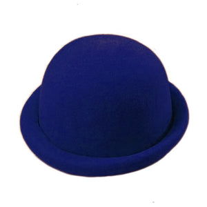Felt Derby w Rolled Rim - Royal Blue