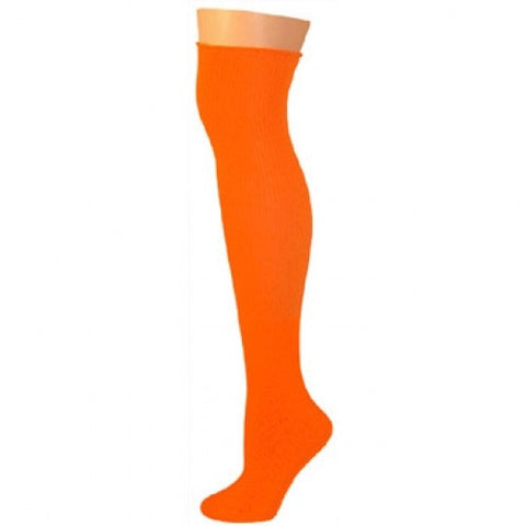 Knee High Socks - Neon Orange