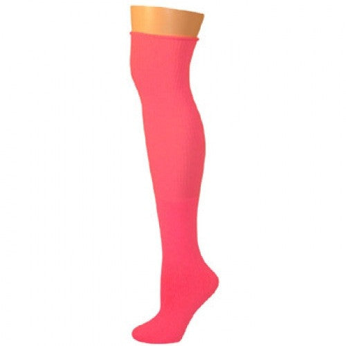 Knee High Socks - Hot Pink