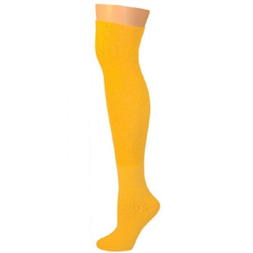 Knee High Socks - Gold Yellow