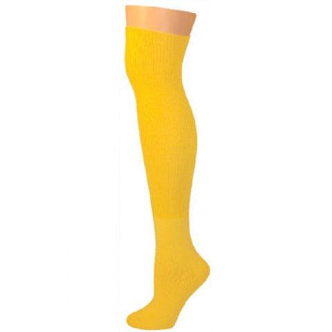 Knee High Socks - Lemon Yellow