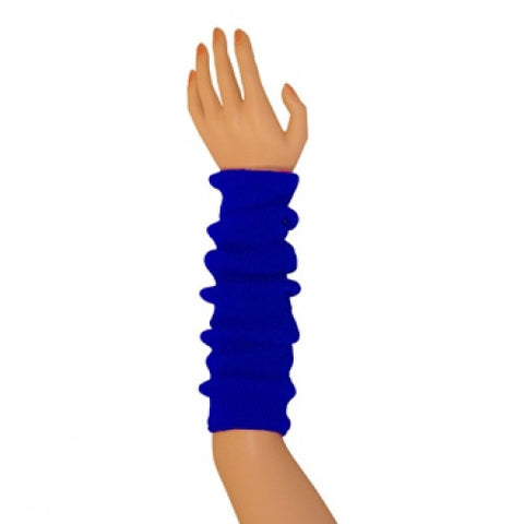 Arm Warmers (tube) - Royal Blue 17""