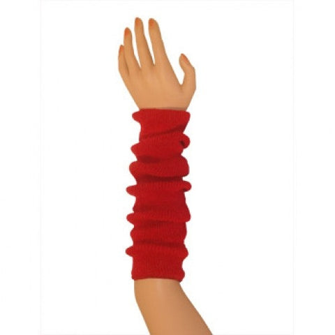 Arm Warmers (tube) - Red 17 ""