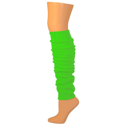 Leg Warmers, Solid Heavy Weight - Lime (23