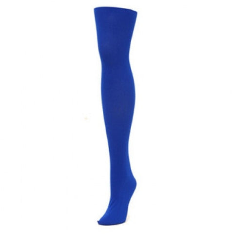 Alan Sloan Solid Tights - Blue