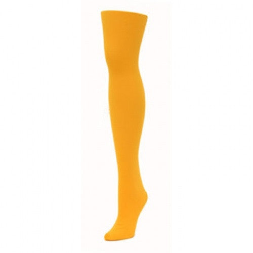 Alan Sloan Solid Tights - Gold/Yellow