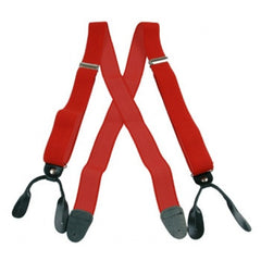 Leather End Suspenders (2 Inch)