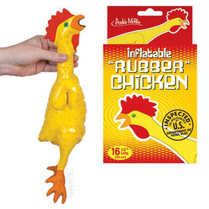 "Emergency Inflatable Rubber Chicken (16 1/2"")"