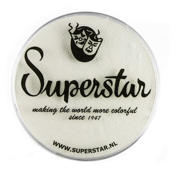 Superstar Aqua Face & Body Paint - Skull White 022 (45 gm)