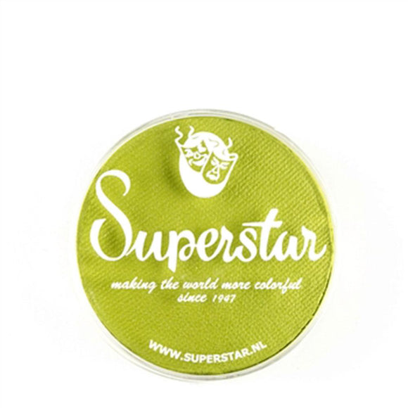Superstar Aqua Face & Body Paint - Light Green 110 (16 gm)