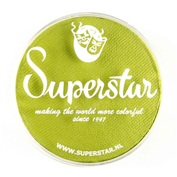Superstar Aqua Face & Body Paint - Light Green 110 (45 gm)