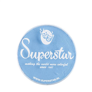 Superstar Aqua Face & Body Paint - Pastel Blue 116 (16 gm)