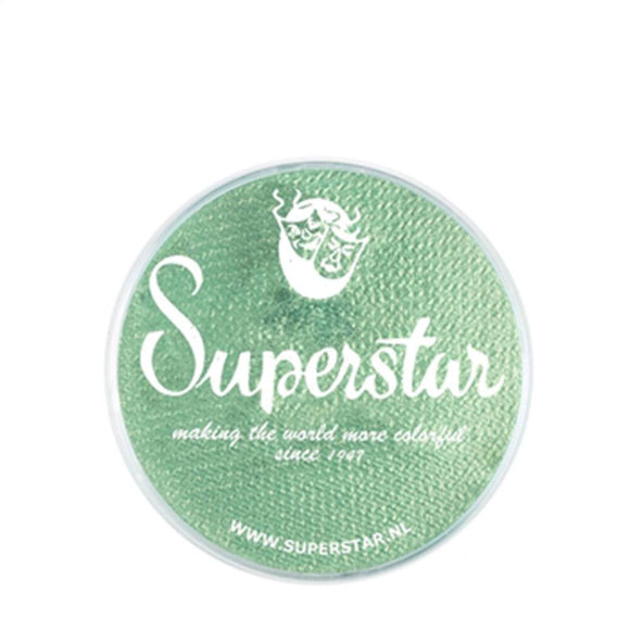 Superstar Aqua Face & Body Paint - Golden Green Shimmer 129 (16 gm)