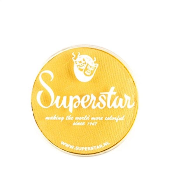 Superstar Aqua Face & Body Paint - Interferenz Yellow Shimmer 132 (16 gm)