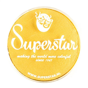 Superstar Aqua Face & Body Paint - Interferenz Yellow Shimmer 132 (45 gm)