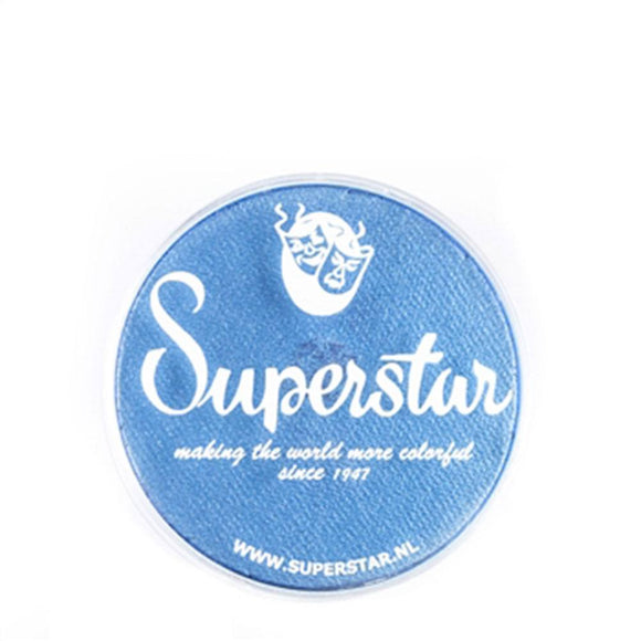 Superstar Aqua Face & Body Paint - Mystic Blue Shimmer 137 (16 gm)
