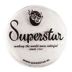 Superstar Aqua Face & Body Paint - Silver White Shimmer 140 (45 gm)