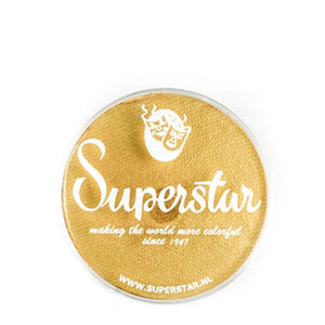 Superstar Aqua Face & Body Paint - Gold Finch Shimmer 141 (16 gm)
